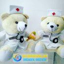 boneka_wisuda_perawat_bidan_teddy_bear
