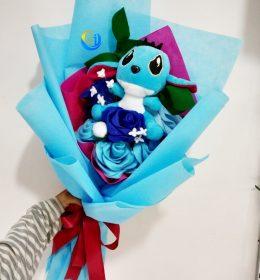 buket-bunga-boneka-stitch