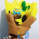 buket-bunga-matahari-boneka-minion-murah