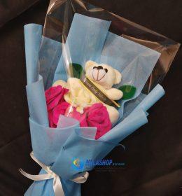 buket-bunga-mawar-boneka-wisuda-murah