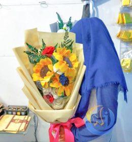 buket-bunga-mawar-matahari